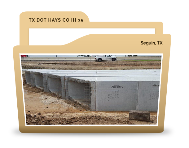 TX DOT Hays Co IH
